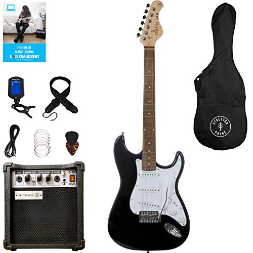 Stretton Payne ST Electric Guitar Package with practice amp,...