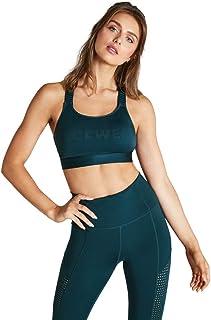Rockwear Activewear Women's Hi Running Adjustable Sports Bra Dark Teal 14 From size 4-18 Bras For