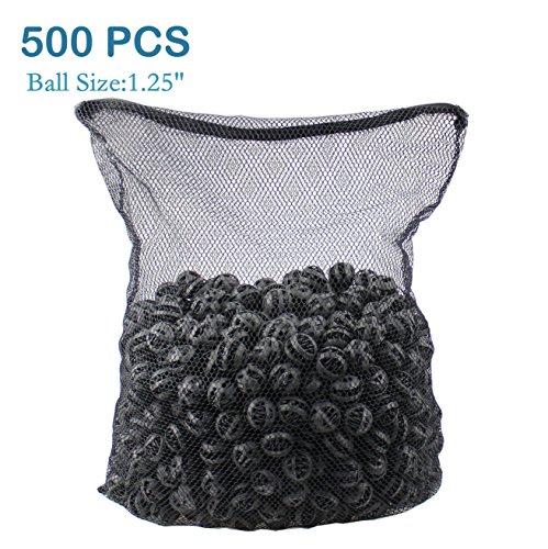 """AQUANEAT 500pcs 1.25"""" Bio Balls 4.2 Gal Aquarium Filter Media Pond Canister Filter Media"""