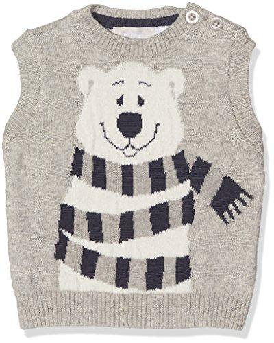 Chicco Chicco Baby-Jungen 9096435 Weste, Grau (Grigio Chiaro), (Herstellergröße: 050)