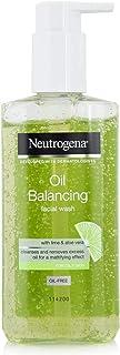 Neutrogena, Oil Balancing Facial Wash,Lime , For Oily Skin, 200ml
