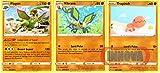 Pokemon Evolution Set - Flygon 91/189 - Darkness Ablaze Sword & Shield - Rare Card Lot
