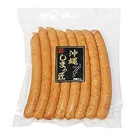 沖縄しまの匠 ウィンナー 296g(37g×8本)×1袋 オキハム 歯ごたえばっちり ジューシーで味わい深い粗挽きソーセージ