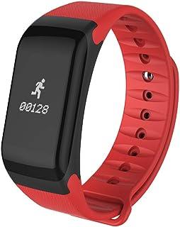 YOKING F1 Smart Health frecuencia cardiaca presión arterial contador de pasos pulsera Bluetooth impermeable