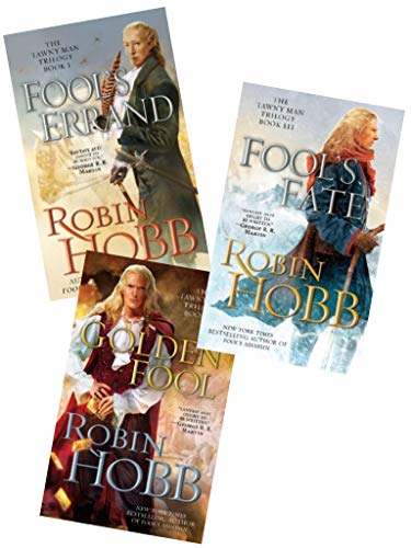 Complete Tawny Man Trilogy by Robin Hobb Books 1-3 in the Series (Set Includes: Fool's Errand, Golden Fool,Fool's Fate)