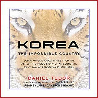 Korea audiobook cover art