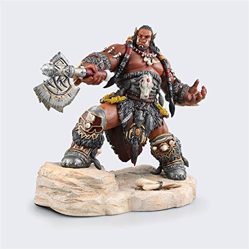 Mopoq World of Warcraft Alliance Horde Shadow Time Wow Large Edition Warcraft Durotan Orgrim Model Figure