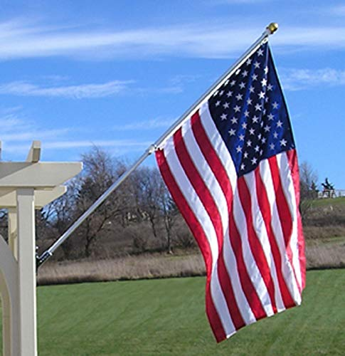 Made In USA 3x5 Foot Outdoor Nylon American Flag...