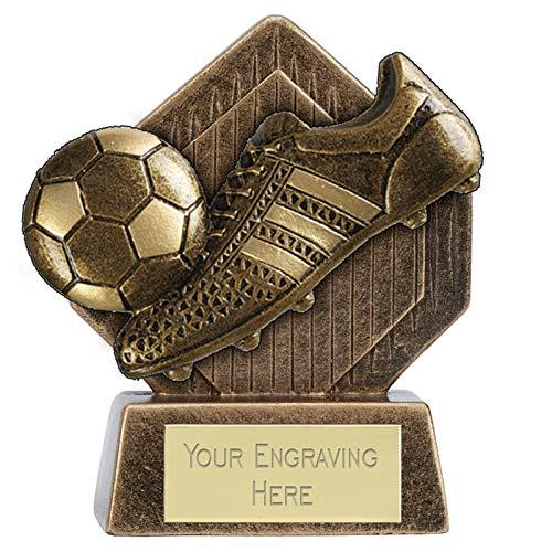 Womack Graphics 3.25 inch (8cm) Pocket Peak Football Boot & Ball Resin...