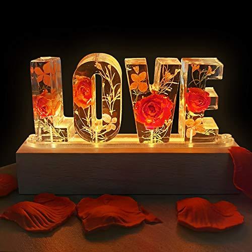 MMTX Saint Valentin LOVE Lumière Décoration avec Veritable...
