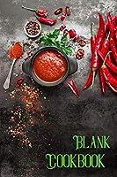 Blank Cookbook: My Own Recipe Book-Recipe Book Men-Personal Cook Book-Recipie Book to Write in-Cookbook Empty Pages