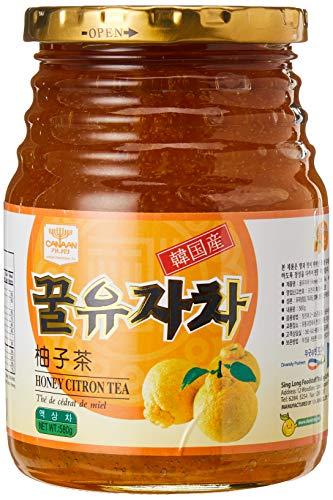 Damizle Koreanischer Zitronenfrüchtetee Zitronen Tee Yujacha 580g