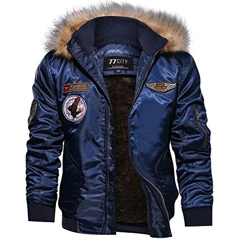 ALIKEEY Manteau Homme hivers Doudoune Homme Hiver Chaud Sweat-Shirt à Capuche Homme Veste à Capuche zippée à Manches Longues à Manches Longues à Manches Longues pour Hommes