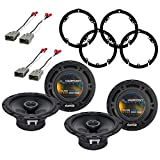 Best Harmony Audio Car Speakers - Harmony Audio Bundle Compatible with 2006-2011 Honda Civic Review