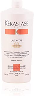 Kerastase 16354900444 Nutritive Lait Vital Incredibly Light for Normal to Slightly Dry Hair, 34 Ounce