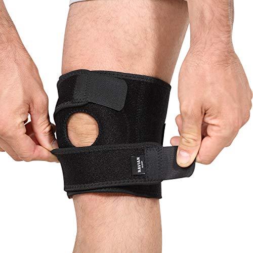 Ravian Kniebandage, offene Patella-Kniebandage für Knieschmerzen