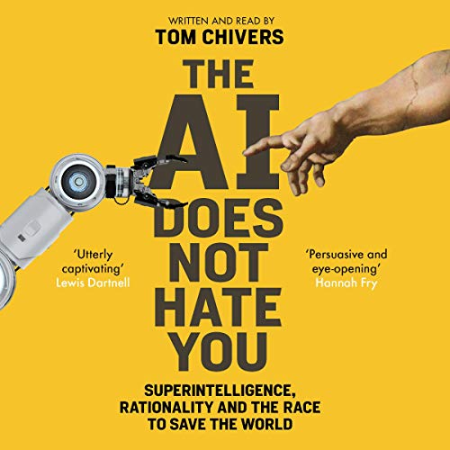 The AI Does Not Hate You audiobook cover art