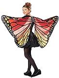 Seasons Kids Monarch Butterfly Cape Wings, One Size