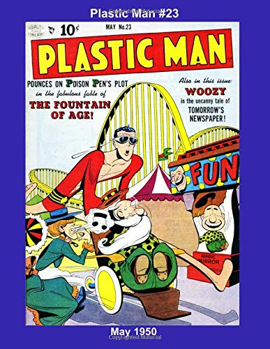 Plastic Man #23 - May 1950 (Golden Age Reprints by StarSpan)