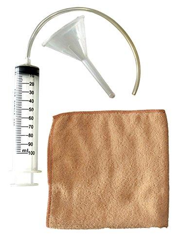 Güde 95367 RM Oliewisselkit (trechter, oliespuit, microvezeldoek 30 x 30 cm)