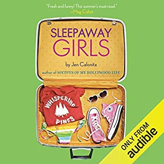 Sleepaway Girls audiobook cover art