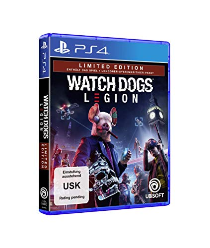 Watch Dogs Legion - Limited Edition - (exklusiv bei Amazon, kostenloses Upgrade auf PS5) [Playstation 4]