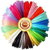 20 Beautiful Colors 3D Pen PLA Filament Refills, Each Color 10 Feet, Total 200 Feet TTYT3D, Not Fit for 3Doodler Pen