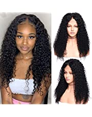 150% Density Curly Wavy Straight 360 Lace Frontal Wig 100% Brazilian Human Hair Wig With Baby Hair Pre Plucked