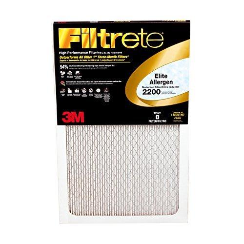 Filtrete 14x20x1 MPR 2200 Elite Allergen Filter 1PK by Filtrete