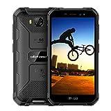 Rugged Smartphones Unlocked 3G Ulefone Armor X6,Waterproof Rugged Cell Phones Unlocked, 5'' HD Android 9.0 2GB+16GB 8MP Camera 4000mAh, Dual Sim Rugged Phone GPS/Glonass/WiFi (Black)