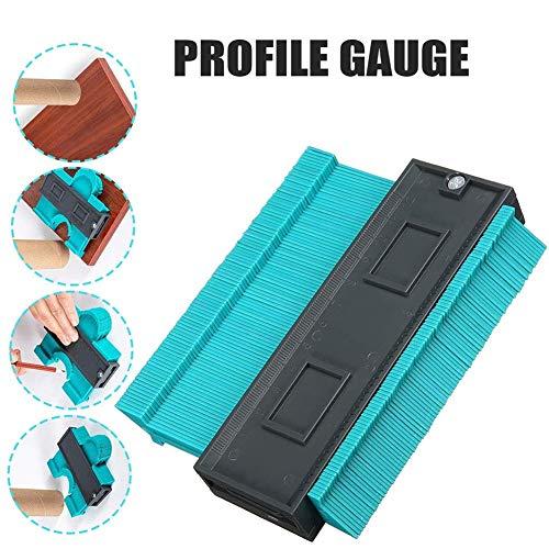 Contourmeter van kunststof, contourmeter, profielmeter, voor houtmarkering, voor nauwkeurig meten, kunststof