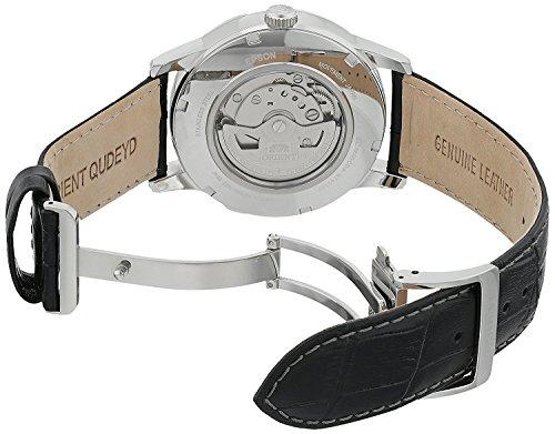 Orient Herren Analog Automatik Uhr mit Leder Armband FAK00002S0 - 3