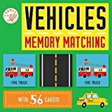 Silver Dolphin Books Games on The Go!: Vehicles Memory Matching