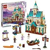 LEGO 41167 Disney Princess Frozen Die Eiskönigin 2 Schloss Arendelle, Bauset mit Anna, ELSA und Kristoff Mini Puppen, Marktständen, Ruderboot sowie Tierfiguren, Spielzeug ab 5 Jahren