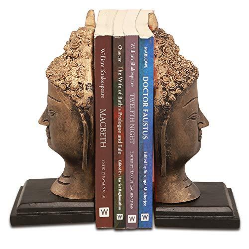 SPI Buddha Head Bookends Pr