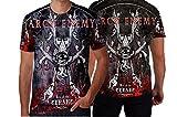 Arch Enemy Melodic Death Metal Custom Man T-Shirt Full Print Sublimation (XXX-Large)