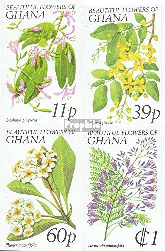 Prophila Collection Ghana 779B-782B (kompl.Ausg.) 1978 Flora (Briefmarken für Sammler) Pflanzen