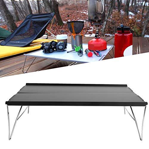 Emoshayoga Mesa al Aire Libre Mesa Plegable Mesa portátil de aleación de Aluminio para picnics