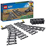 LEGO City Trains Scambi Ferroviari 6 Pezzi, Set di Accessori Aggiuntivi, 60238