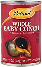 Roland Foods Baby Conch, Whole, 15 Ounce