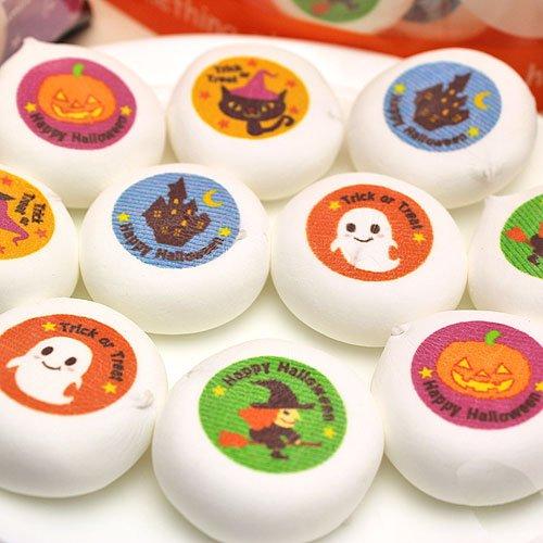 ハロウィン マシュマロ 100個入り 個包装 チョコレート お菓子 箱入り