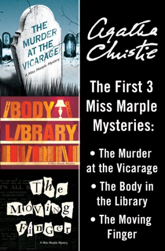 Miss Marple 3-Book Collection 1: The Murder at the Vicarage, The Body in the Library, The Moving Finger (English Edition)