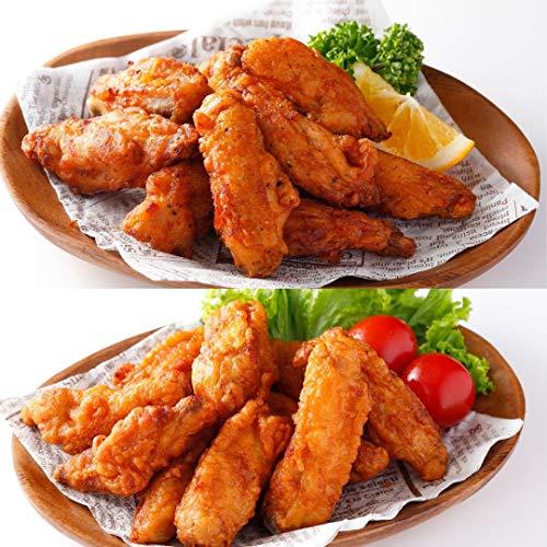 [スターゼン] 骨のあるやつら(チキンスティック1kg+ チキンスティック(スパイシー)1kg) 合計2�s 冷凍食品 鶏肉 チキン 電子レンジ調理