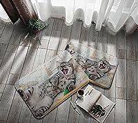 ドア家庭用品印刷ドアマットバスルームマット滑り止めマットフロアマット40 * 60cm E