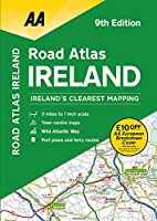 AA Ireland Road Atlas (Aa Road Atlas)