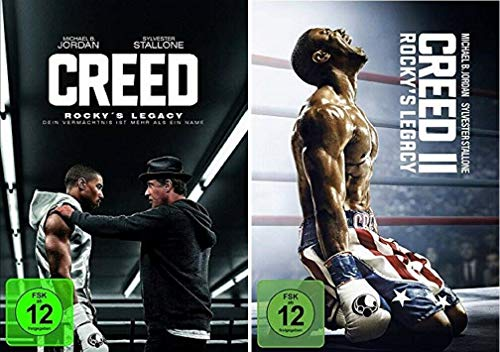 Creed Rocky's Legacy 1+2 [DVD Set] Creed 1+2, Teil 1+2