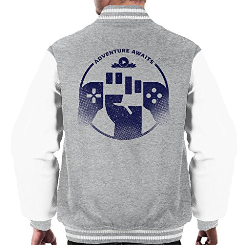 Cloud City 7 Gaming Avontuur wacht mannen Varsity Jacket