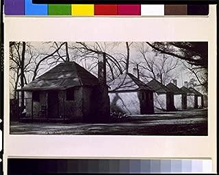 HistoricalFindings Photo: Houses on Hermitage Plantation,Savannah,Georgia,GA,African Americans,1935
