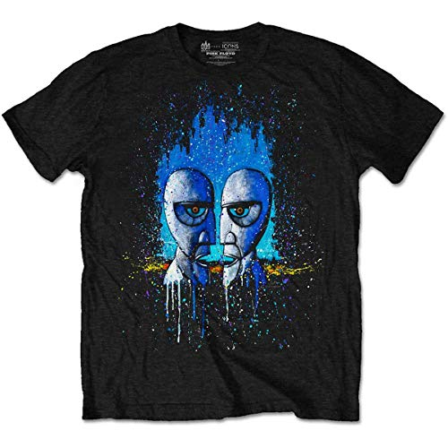 T-Shirt # M Black Unisex # Division Bell Drip
