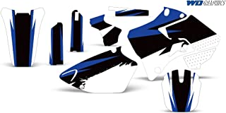 Wholesale Decals Yamaha YZ 125 250 1996-2001 with Rim Trim and Number Plates Midnight Race Design